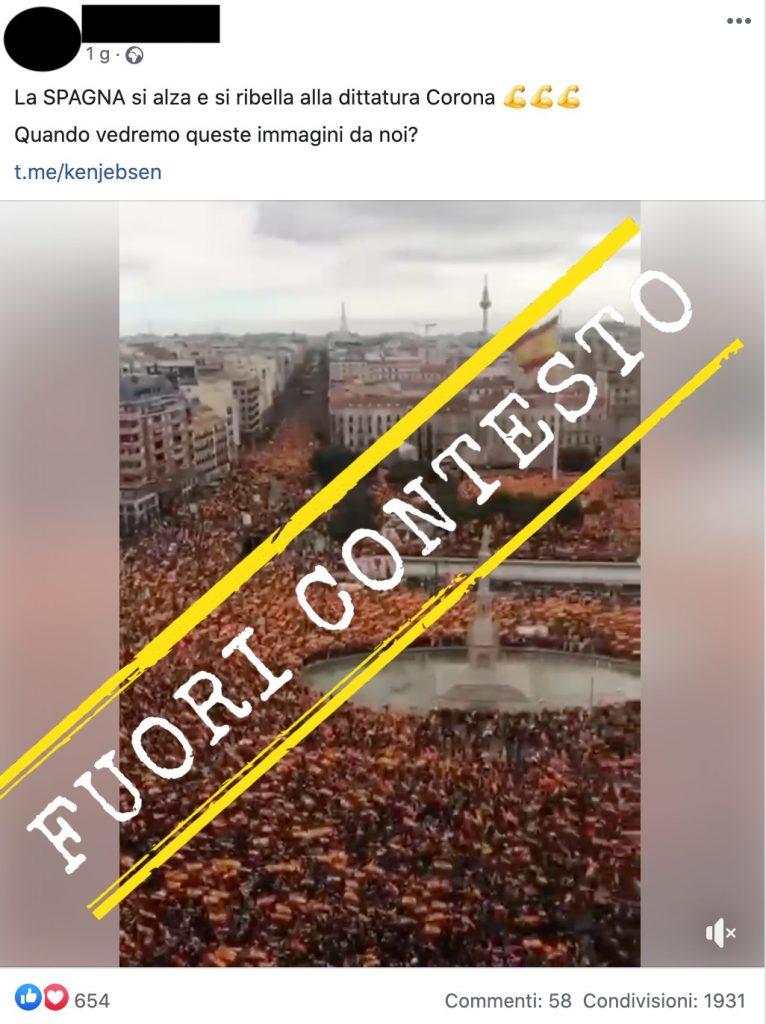 Questo video è stato girato in Spagna, ma la Covid 19 non c'entra